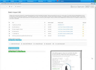 Shopware 360 Grad Backend