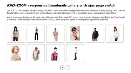 Thumbnails click image zoom in lightbox
