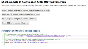 AJAX-ZOOM fullscreen