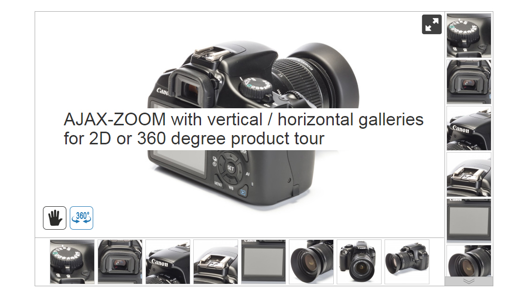 360 degree product tours